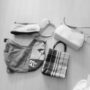 かばんの見直しと、羽毛布団の洗濯(二度目)