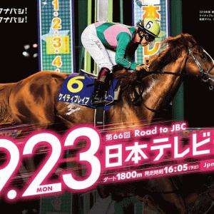 日本テレビ盃2019 予想と過去傾向