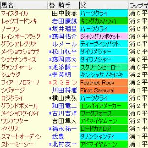 阪神カップ2019 予想とレース結果、配当、過去傾向データ