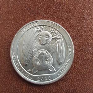 25セント硬貨🦇