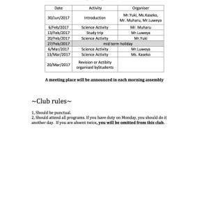 Koba's Classroom vol.7 〜サイエンスクラブの立ち上げ、その記念すべき第一回、、!!〜