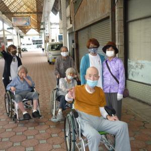 7月7日 「 栄町商店街を散歩 」(喜楽太郎のFacebookより)