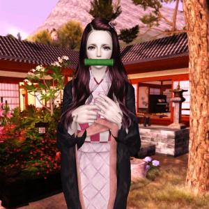 Sims3 「鬼滅の刃」 竈門禰豆子