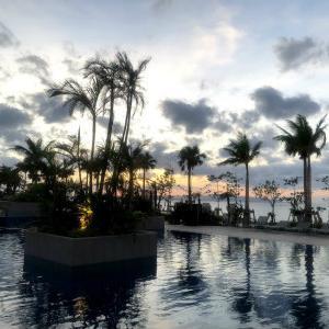 石垣、極楽ホテルでおはようございます