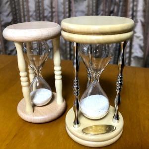 マツコの知らない世界で紹介された砂時計店から砂時計が届いた