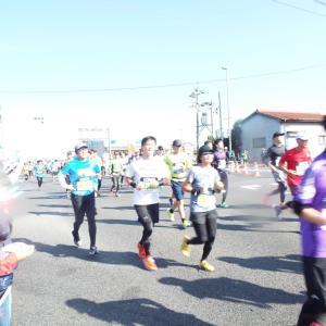 岡山マラソンの応援に行って来ました!!