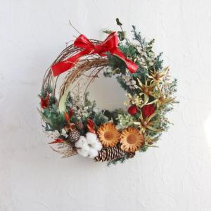 Pleasant Christmas wreath