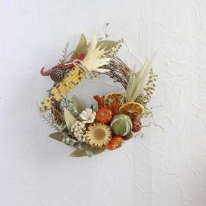 Harvest autumn wreath