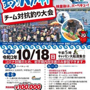 大船渡市イベント 釣りバカ杯