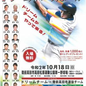 陸前高田市イベント ドリームベースボール