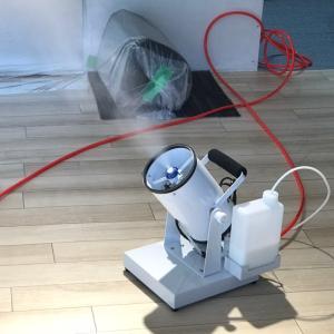 スタジオを除菌&抗菌しました。