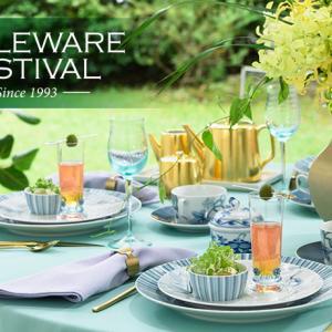 テーブルウェアフェスティバル2019企業ブース装飾 と コンテスト2名通過