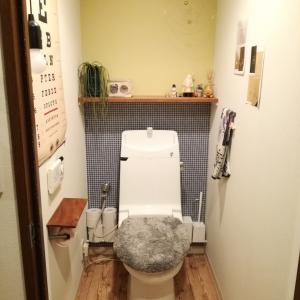 トイレの壁紙。Hatte meでイメチェン♪