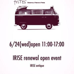 IRISE antique renewal open event:)
