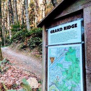 知らなかった近所のトレイル - Grand Ridge Trail