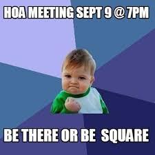 HOAミーティングに参加してみた