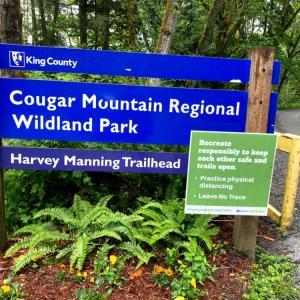 トレイル・ランナーの天国 Harvey Manning Trail