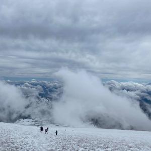 レニア山の大御所キャンプ・ミューア