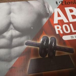 腹筋ローラー&高機能体重計で今年こそは体を絞る!!