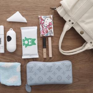 いつもの「かばんの中身」はホンマに必要な物しかいらない。