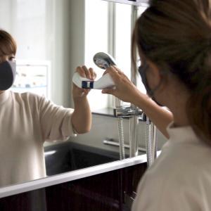 【驚き】鏡にガラコはNG!くもりを一撃必殺で改善する方法*