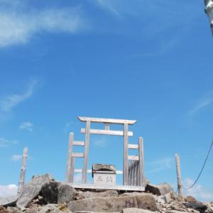 天空の神社、標高1920M車山神社