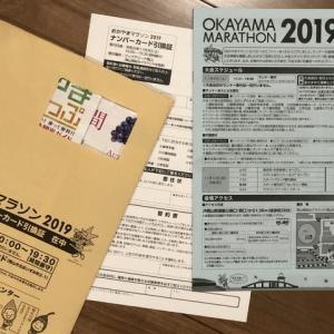 岡山マラソンの案内が来ていました。