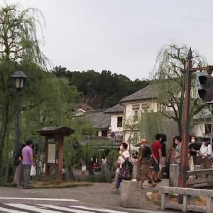 倉敷美観地区は賑わってます。