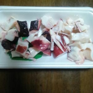 晩酌のつまみ カマ肉ってとても美味い!