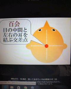 万能ツボ「百会(ひゃくえ)」(改)
