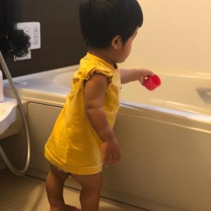 お風呂掃除してるはずが…