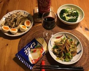 遅~い夕食