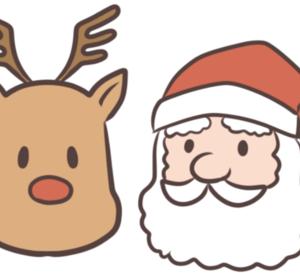 《クリスマス》サンタクロースがやってきた