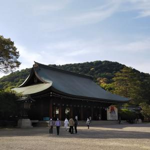 橿原神宮へ!