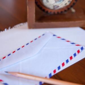 手紙が届きました♪