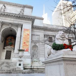 クリスマスシーズンのニューヨーク