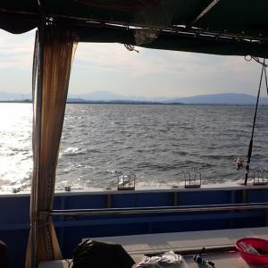 ウナギ釣り K曽川河口。   2021年7月26日(月)