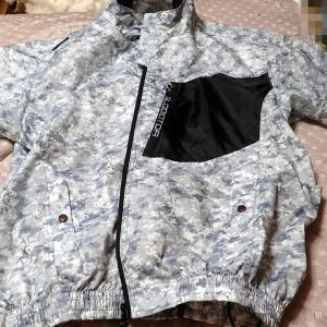 パーカータイプ空調服を買ってみた。  2021年8月3日(火)