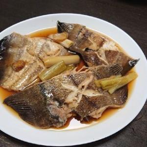 柳カレイの煮付け #料理 #魚 #煮付け #鰈