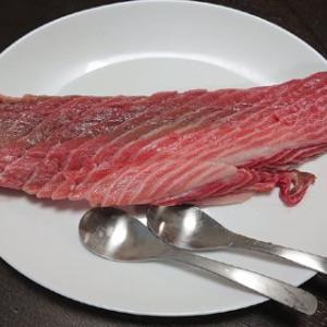 スプーンで食べるマグロ #料理 #マグロ #鮪 #魚 #魚介 #食事 #スプーン