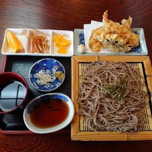 天ざる #料理 #ランチ #和食 #蕎麦