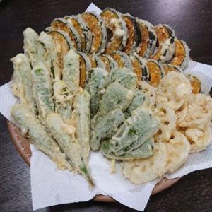 「さくさくの天ぷら」 #料理 #天ぷら #野菜