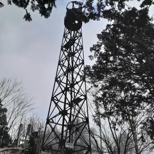 2019.12.12 北夕森山 山頂に鉄塔が建つ東濃の山
