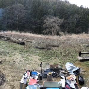 3月21日(土) 仙見川でデイキャンプ