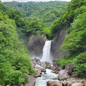 6月7日(日) MT-07で妙高市 苗名滝へ