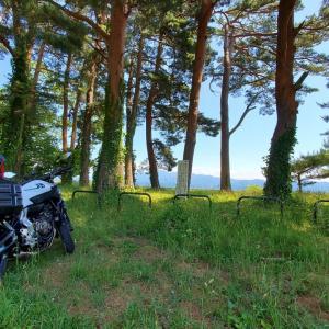 6月21日(日) MT-07 猪苗代湖畔でデイキャンプ