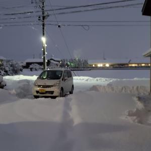 1月8日(金) いきなり大雪に
