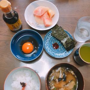 和朝食、始めました。