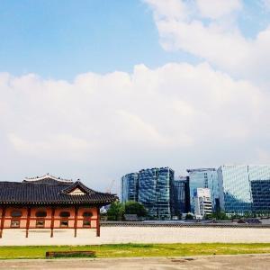 夏休みのソウル: 景福宮をお散歩