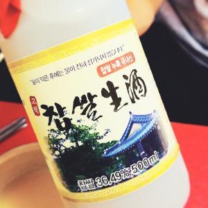 夏休みのソウル: チャプサル生酒
